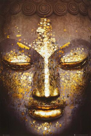 Visage du bouddha