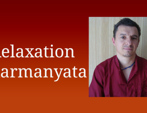 9 et 10 octobre > Relaxation karmanyata – Redonner souplesse au corps et à l'esprit